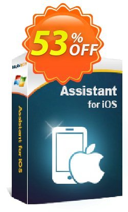 MobiKin Assistant for iOS - 1 Year, 1 PC License Coupon discount 50% OFF -