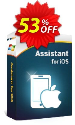MobiKin Assistant for iOS - 1 Year, 1 PC License Coupon, discount 50% OFF. Promotion: