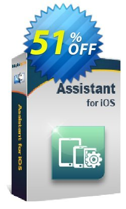 MobiKin Assistant for iOS - Mac Version - Lifetime, 2-5PCs License Coupon, discount 50% OFF. Promotion: