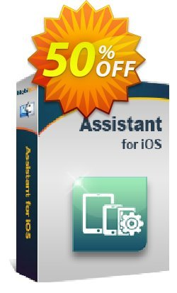 MobiKin Assistant for iOS - Mac Version - Lifetime, 26-30PCs License Coupon, discount 50% OFF. Promotion: