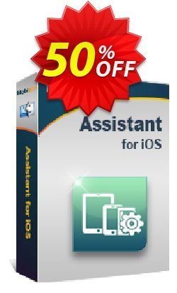 MobiKin Assistant for iOS - Mac - 1 Year, 26-30PCs License Coupon, discount 50% OFF. Promotion: