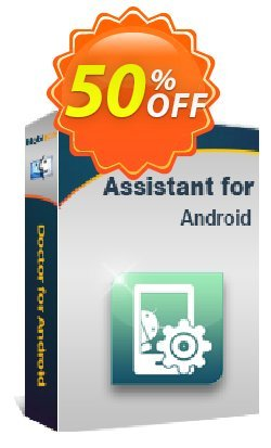 MobiKin Assistant for Android - Mac - Lifetime, 6-10PCs License Coupon, discount 50% OFF. Promotion: