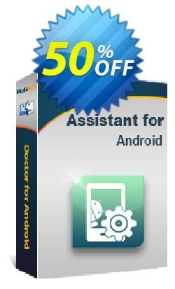 MobiKin Assistant for Android - Mac - Lifetime, 11-15PCs License Coupon, discount 50% OFF. Promotion: