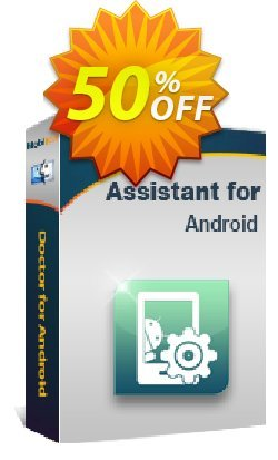 MobiKin Assistant for Android - Mac - Lifetime, 26-30PCs License Coupon, discount 50% OFF. Promotion: