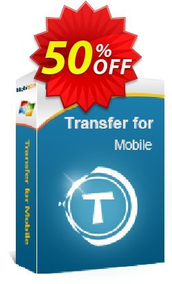 MobiKin Transfer for Mobile - Lifetime, 26-30PCs License Coupon, discount 50% OFF. Promotion: