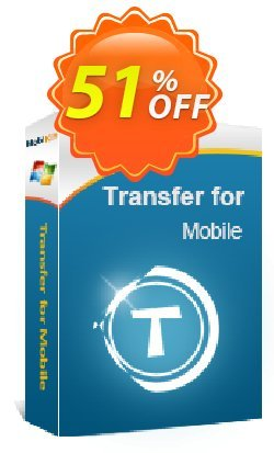 MobiKin Transfer for Mobile - 1 Year, 6-10PCs License Coupon, discount 50% OFF. Promotion: