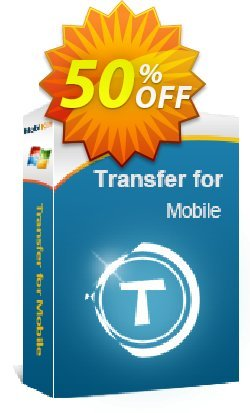 MobiKin Transfer for Mobile - 1 Year, 11-15PCs License Coupon, discount 50% OFF. Promotion: