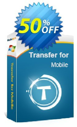 MobiKin Transfer for Mobile - 1 Year, 16-20PCs License Coupon, discount 50% OFF. Promotion: