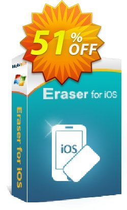 MobiKin Eraser for iOS - Lifetime, 2-5PCs Coupon discount 50% OFF. Promotion: