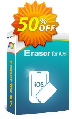 MobiKin Eraser for iOS - Lifetime, 11-15PCs Coupon discount 50% OFF -