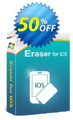 MobiKin Eraser for iOS - 1 Year, 21-25PCs License Coupon discount 50% OFF -