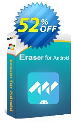 MobiKin Eraser for Android - Lifetime, 1 PC License Coupon, discount 50% OFF. Promotion: