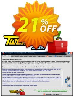 Tweaking.com Windows Repair Pro v4 - Yearly Tech License  Coupon discount Tweaking.com - Windows Repair 2021 Pro v4 - Individual Yearly Tech License big offer code 2021 - big offer code of Tweaking.com - Windows Repair 2021 Pro v4 - Individual Yearly Tech License 2021
