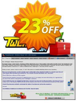 Tweaking.com Windows Repair Pro v4 - 1 Additional Yearly License  Coupon discount Tweaking.com - Windows Repair 2021 Pro v4 - 1 Additional License awesome discount code 2021 - tweaking.com discount coupon (55791)