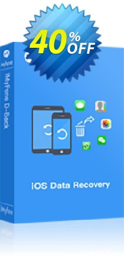 iMyFone D-Back  - Lifetime/16-20 iDevices  Coupon discount iMyfone discount (56732) - iMyfone promo code