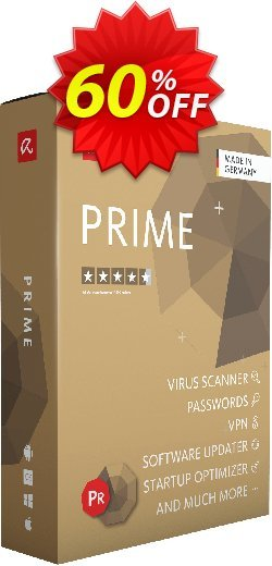 Avira Prime Coupon, discount 50% OFF Avira Prime, verified. Promotion: Fearsome promotions code of Avira Prime, tested & approved
