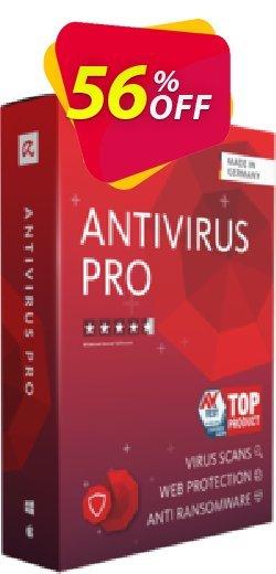 Avira Antivirus Pro Coupon, discount 50% OFF Avira Antivirus Pro, verified. Promotion: Fearsome promotions code of Avira Antivirus Pro, tested & approved