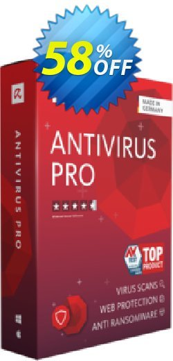 Avira Antivirus Pro 1 year Coupon, discount 50% OFF Avira Antivirus Pro 1 year, verified. Promotion: Fearsome promotions code of Avira Antivirus Pro 1 year, tested & approved