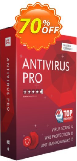 Avira Antivirus Pro 3 years Coupon, discount 50% OFF Avira Antivirus Pro 3 years, verified. Promotion: Fearsome promotions code of Avira Antivirus Pro 3 years, tested & approved