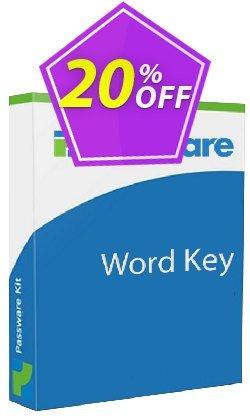 Passware Word Key Full License Coupon discount 20% OFF Passware Word Key Full License, verified