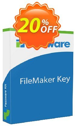 Passware FileMaker Key Coupon discount 20% OFF Passware FileMaker Key, verified. Promotion: Marvelous offer code of Passware FileMaker Key, tested & approved