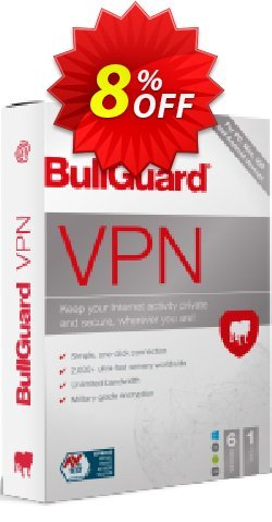 BullGuard VPN 1 month plan Coupon discount 5% OFF BullGuard VPN 1 month plan, verified - Awesome promo code of BullGuard VPN 1 month plan, tested & approved