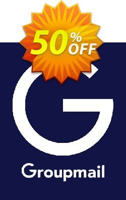 GroupMail Marketing License Coupon discount 20% OFF GroupMail Marketing License, verified - Awful discounts code of GroupMail Marketing License, tested & approved
