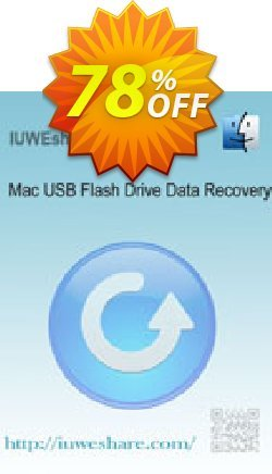 IUWEshare Mac USB Flash Drive Data Recovery Coupon, discount IUWEshare coupon discount (57443). Promotion: IUWEshare coupon codes (57443)