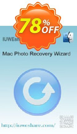 IUWEshare Mac Photo Recovery Wizard Coupon, discount IUWEshare coupon discount (57443). Promotion: IUWEshare coupon codes (57443)