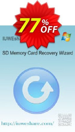 IUWEshare SD Memory Card Recovery Wizard Coupon, discount IUWEshare coupon discount (57443). Promotion: IUWEshare coupon codes (57443)
