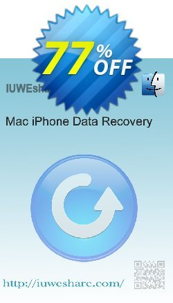 IUWEshare Mac iPhone Data Recovery Coupon, discount IUWEshare Mac iPhone Data Recovery coupon discount (57443). Promotion: IUWEshare Mac iPhone Data Recovery coupon codes (57443)