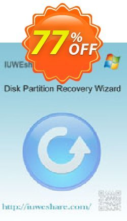 IUWEshare Disk Partition Recovery Wizard Coupon, discount IUWEshare coupon discount (57443). Promotion: IUWEshare coupon codes (57443)