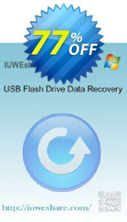 IUWEshare USB Flash Drive Data Recovery Coupon, discount IUWEshare coupon discount (57443). Promotion: IUWEshare coupon codes (57443)