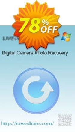 IUWEshare Digital Camera Photo Recovery Coupon, discount IUWEshare coupon discount (57443). Promotion: IUWEshare coupon codes (57443)
