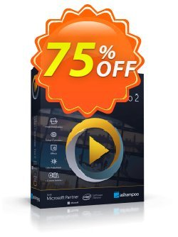 Ashampoo Video Optimizer Pro Coupon, discount 72% OFF Ashampoo Video Optimizer Pro, verified. Promotion: Wonderful discounts code of Ashampoo Video Optimizer Pro, tested & approved