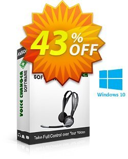 AV Voice Changer Software 7.0 Coupon discount 50% OFF AV Voice Changer Software 7.0, verified - Excellent offer code of AV Voice Changer Software 7.0, tested & approved