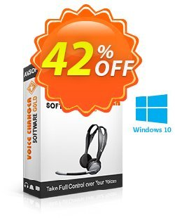 AV Voice Changer Software Gold Coupon discount 20% Voice changer gold discount - AV Voice Changer Software Gold Discount 20% AVSO-30OFFALL; AVSO-MC5H-BLHP