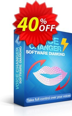 AV Voice Changer Software Diamond 9.5 Coupon discount 40% OFF - VCSD - Excellent offer code of AV Voice Changer Software Diamond 2021