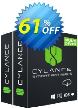 Cylance Smart Antivirus Coupon, discount 60% OFF Cylance Smart Antivirus, verified. Promotion: Awful deals code of Cylance Smart Antivirus, tested & approved