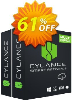 Cylance Smart Antivirus 2 year / 1 device Coupon, discount 60% OFF Cylance Smart Antivirus 2 year / 1 device, verified. Promotion: Awful deals code of Cylance Smart Antivirus 2 year / 1 device, tested & approved