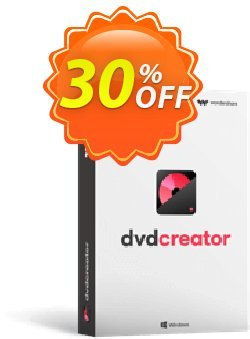 Wondershare DVD Creator for Mac Coupon discount 30% Wondershare Software (8799) -