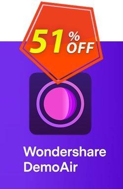 Wondershare DemoAir Coupon, discount 51% OFF Wondershare DemoCreator, verified. Promotion: Wondrous discounts code of Wondershare DemoCreator, tested & approved