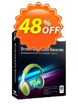 Wondershare Streaming Audio Recorder for Windows Coupon, discount Exclusive Coupon code for Software Voucher . Promotion: SAR- 30% OFF