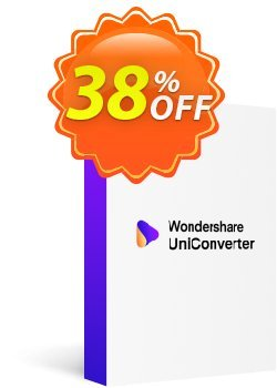 Wondershare Video Converter for Mac Coupon discount 26% OFF Wondershare Video Converter for Mac, verified - Wondrous discounts code of Wondershare Video Converter for Mac, tested & approved