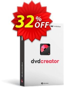 Wondershare DVD Creator Coupon discount 30% Wondershare Software (8799) -