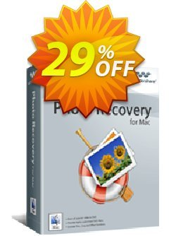 Wondershare Photo Recovery for Mac Coupon, discount 30% Wondershare Software (8799). Promotion: