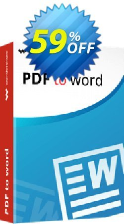 Wondershare PDF to Word for Mac Coupon, discount 30% Wondershare Software (8799). Promotion: