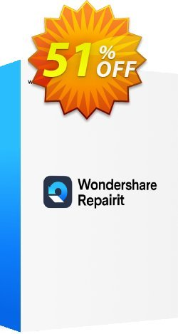 Wondershare Video Repair Coupon, discount Wondershare Video Repair(Win) Awful sales code 2020. Promotion: Awful sales code of Wondershare Video Repair(Win) 2020