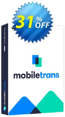 Wondershare MobileTrans - Lifetime License  Coupon, discount MT 30% OFF. Promotion: Big sales code of MobileTrans (Lifetime License) 2020
