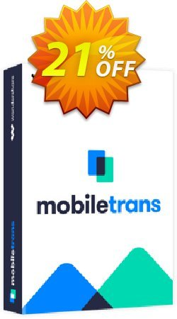 Wondershare MobileTrans for Mac - Lifetime License  Coupon, discount MT 30% OFF. Promotion: Marvelous promotions code of MobileTrans for Mac (Lifetime License) 2020